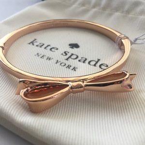 Kate Spade Love Notes Rose Gold bracelet NWT
